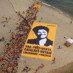 Protesto na Catalunha Utiliza Imagem de Dilma