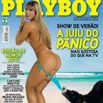 Juliana Salimeni na Capa da Playboy de Janeiro