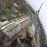 Com Minicâmera, Águia Registra Imagens Aéreas Incríveis de Paris