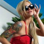 Fotos de Belas Meninas Tatuadas
