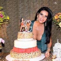 Solange Gomes Esbanja Saúde aos 39 Anos