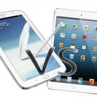 Ipad Mini ou Galaxy Note 8?