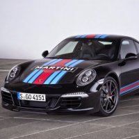 Porsche Lança 911 S Martini Racing Edition