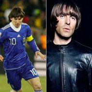 Messi Faz Banda Cover do Oasis
