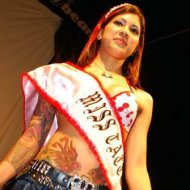 Fotos de Poliane Cordeiro Eleita Miss Tattoo 2009