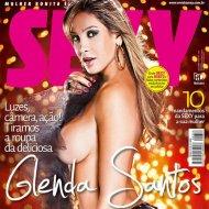 Glenda Santos na Capa da Revista Sexy de Outubro