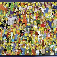 Onde está Wally? Com os Simpsons