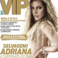 Adriana do BBB 11 é a Capa da Revista VIP de Abril