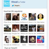 Coloque o Fan Box do Twitter no Seu Blog