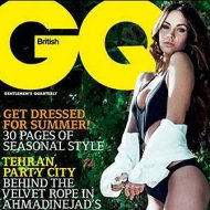 Fotos de Megan Fox na GQ Britânica
