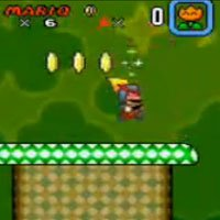 Super Mario World - Hidden Laser Suit